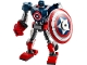 Set No: 76168  Name: Captain America Mech Armor