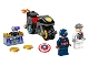 Set No: 76189  Name: Captain America and Hydra Face-Off