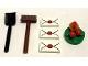 Set No: 76390  Name: Advent Calendar 2021, Harry Potter (Day  4) - Letters, Wreath, Broom & Shovel