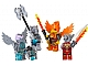Set No: 850913  Name: Fire and Ice Minifigure Accessory Set