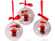 Set No: 852744  Name: Christmas Tree Ornaments, Build Your Own Holiday Ornaments