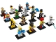 Set No: 8683  Name: Minifigure, Series 1 (Complete Series of 16 Complete Minifigure Sets)