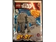 Set No: 911615  Name: AT-AT - Mini foil pack #1