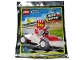 Set No: 952005  Name: Driver and Race Car foil pack