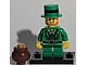 Set No: col06  Name: Leprechaun, Series 6 (Complete Set with Stand and Accessories)