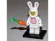 Set No: col07  Name: Bunny Suit Guy, Series 7 (Complete Set with Stand and Accessories)