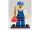 Set No: col09  Name: Plumber, Series 9 (Complete Set with Stand and Accessories)