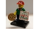 Set No: col12  Name: Pizza Delivery Guy, Series 12 (Complete Set with Stand and Accessories)