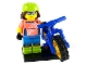 Set No: col19  Name: Mountain Biker, Series 19 (Complete Set with Stand and Accessories)