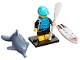 Set No: col21  Name: Paddle Surfer, Series 21 (Complete Set with Stand and Accessories)