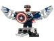 Set No: colmar  Name: Captain America (Complete Set with Stand and Accessories)