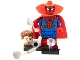 Set No: colmar  Name: Zombie Hunter Spidey (Spider-man) (Complete Set with Stand and Accessories)