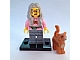 Set No: coltlm  Name: Mrs. Scratchen-Post, The LEGO Movie (Complete Set with Stand and Accessories)