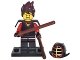 Set No: coltlnm  Name: Kai Kendo, The LEGO Ninjago Movie (Complete Set with Stand and Accessories)