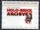 Set No: comcon011  Name: Star Wars Holo-Brick Archives, San Diego Comic-Con 2009 Exclusive