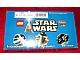 Set No: kabstarwars  Name: Kabaya Star Wars Mini 6-pack box set  (2x 6963-1,  2x 6964-1,  2x 6965-1)