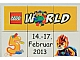 Set No: lwp06  Name: LEGO World Denmark Puzzle Promo 2013