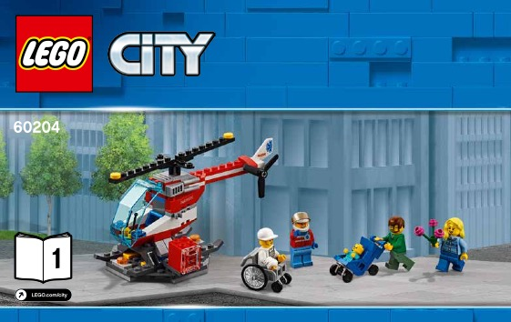 LEGO New Light Bluish Gray City Minifigure Overalls Torso with Paint Splatters