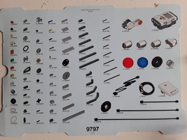 NEW LEGO Part Number 26445 in Bright Blue