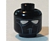 invID: 33605461 P-No: 3626bpb0079  Name: Minifigure, Head Alien with Face Mask with Black Goggles and Chin Lines Pattern (SW Clone Pilot) - Blocked Open Stud