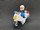 invID: 168335674 S-No: 7235  Name: Police Motorcycle - Black/Green Sticker Version