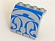 invID: 248221847 P-No: 2582px1  Name: Panel 2 x 4 x 3 1/3 with Hinge with Blue SW Gungan Sub Pattern